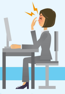 how to avoid eye strain from macbook