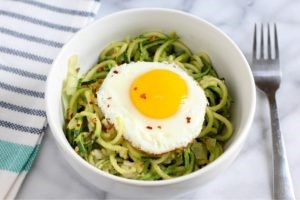 Avocado-Zoodle-Recipe-with-an-Egg-on-Top