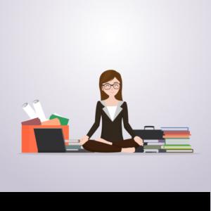 scene-of-business-woman-meditating-before-work_23-2147617940