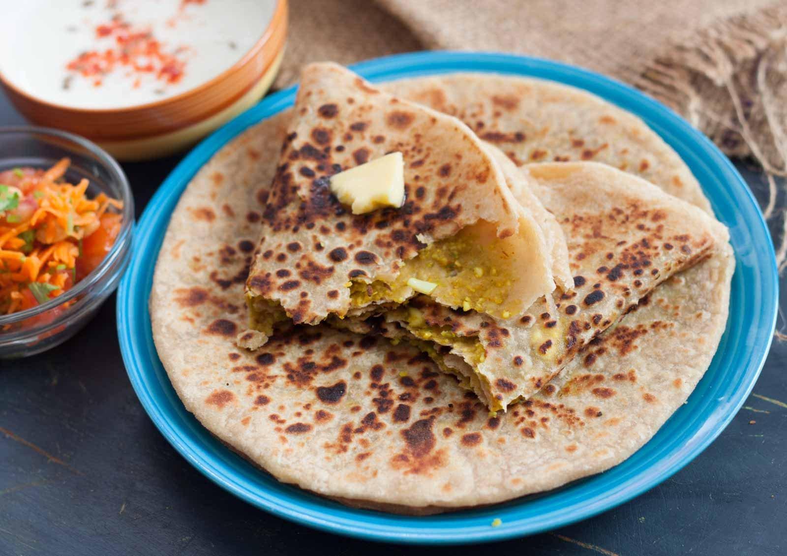 Paneer_and_Green_Peas_Paratha_Recipe_