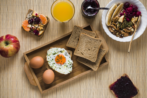 jam-and-salad-near-breakfast-food_23-2147798992
