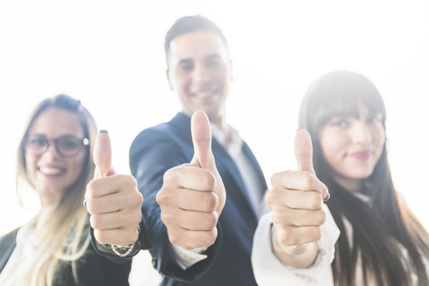 group-business-people-showing-thumb-up-sign_23-2147857241